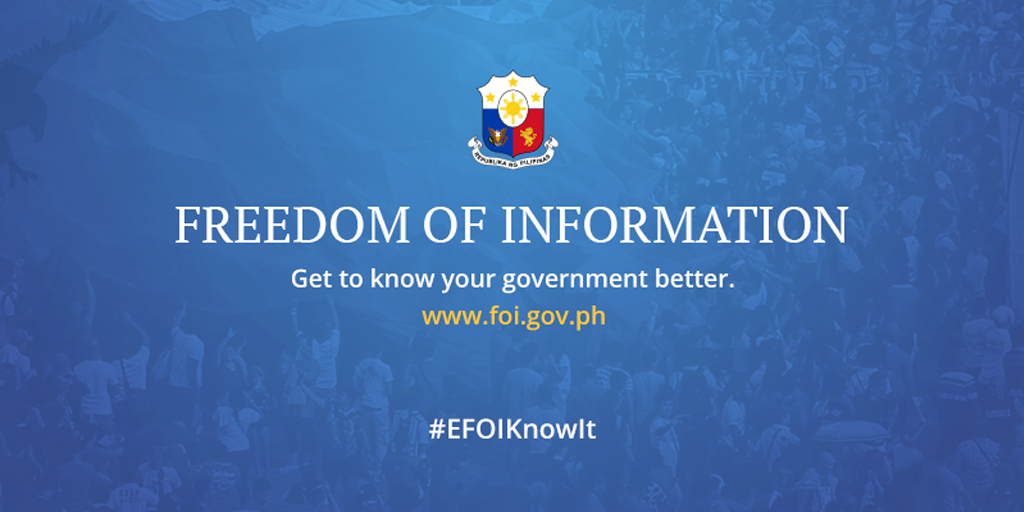 eFOI - Electronic Freedom of Information - Requests